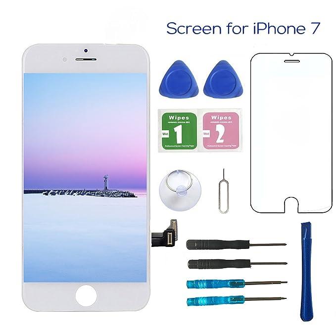 Pantalla de Repuesto para iPhone 7 de 4,7 Pulgadas, Pantalla LCD ...