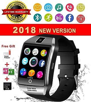 Reloj Inteligente Bluetooth, Impermeable Smart Watch con Camara ...