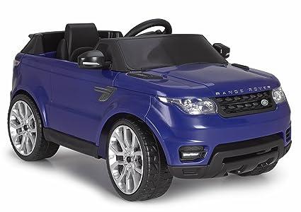 Amazon.com: FEBER Range Rover vehículo de equitación, azul ...