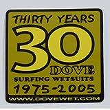 DOVE 30周年記念ステッカー