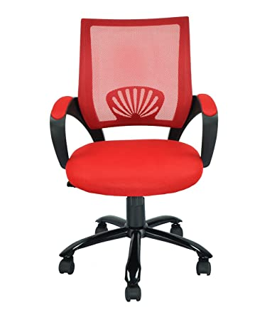 Amazoncom Mid Back Mesh Ergonomic Computer Desk Office Chair