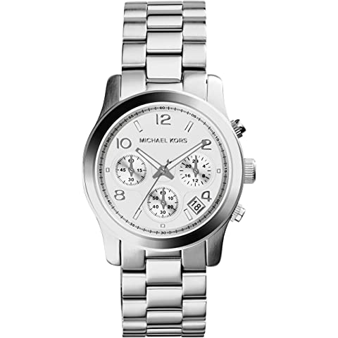 91213f37e04a Amazon.com  Michael Kors Women s MK3157 Silver Stainless-Steel ...