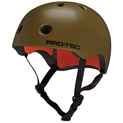 Casque de Skateboard Pro-Tec Street Lite Néon Orange