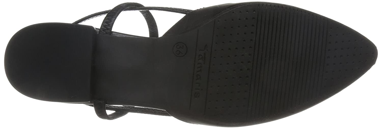 Tamaris Damen Damen Tamaris 29408 Slingback Sandalen schwarz 9e25da