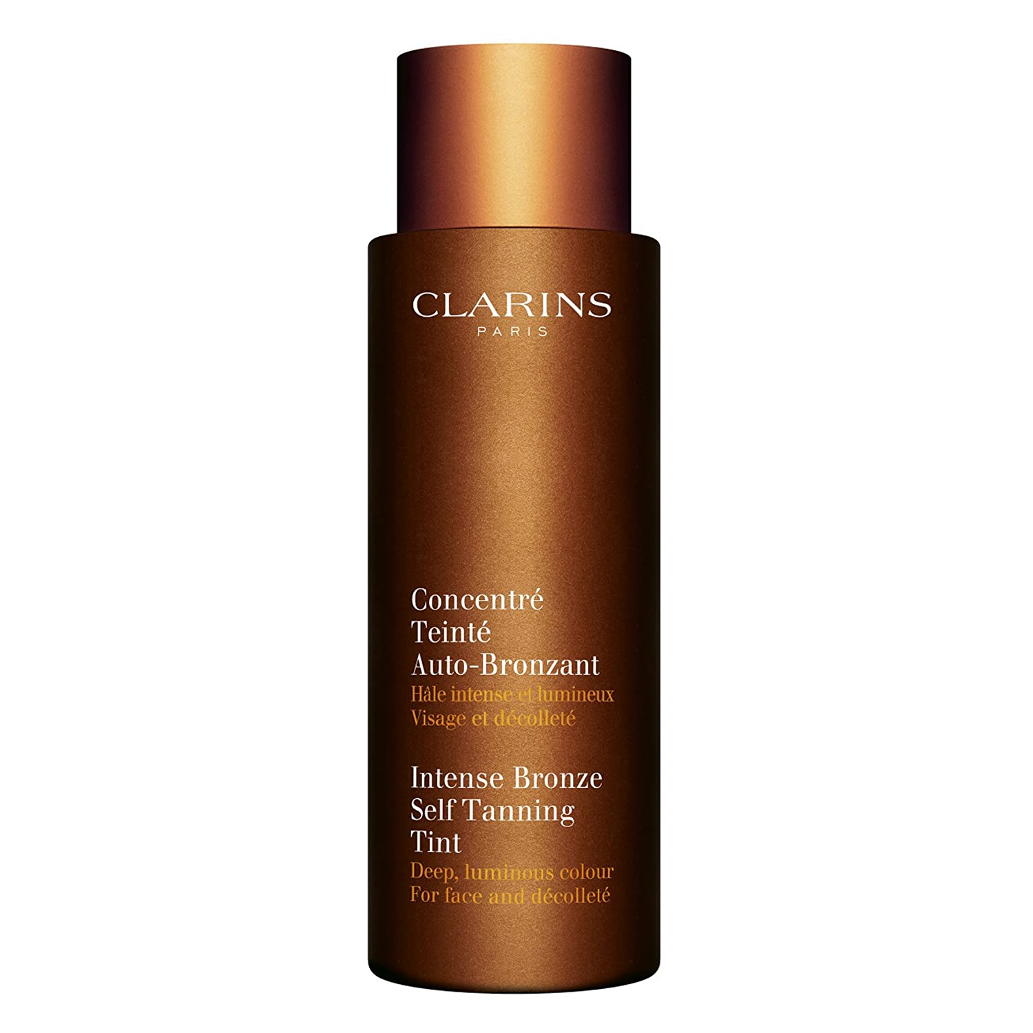 Clarins Intense Bronze Self Tanning Tint For Face & Decollete 125ml