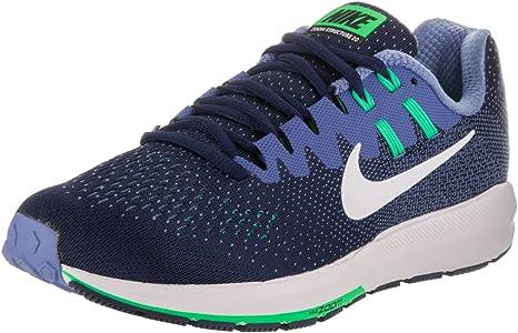 Zapatillas Air Zoom Structure 20 de Nike, para mujer, colores azul binario y blanco polar eléctrico, Variation, multicolor, 6: Amazon.es: Deportes y aire libre