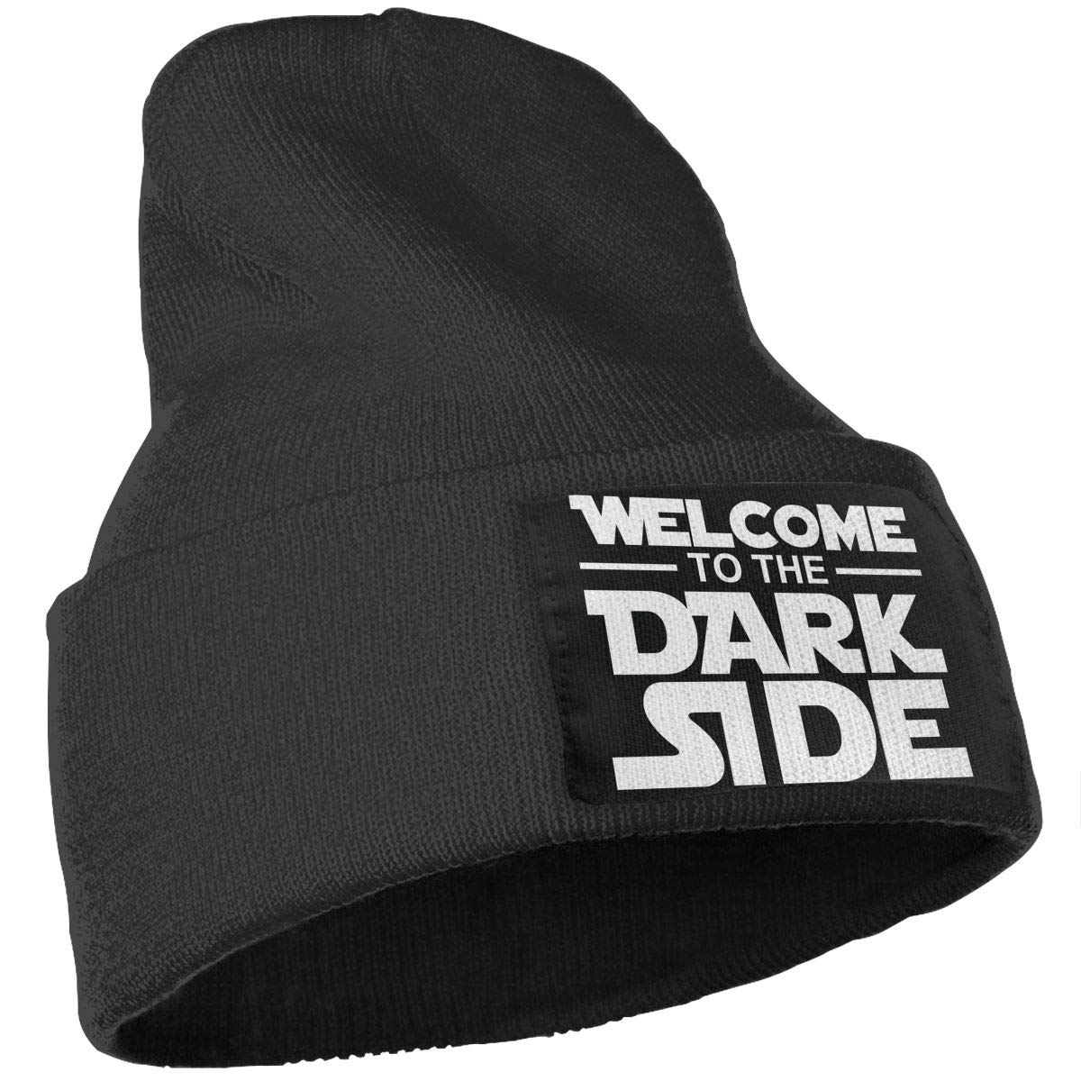 WHOO93@Y Mens and Womens 100/% Acrylic Knitting Hat Cap Welcome to The Dark Side Fashion Beanie Hat