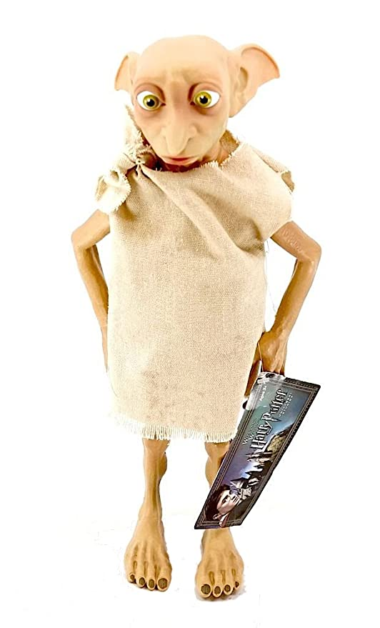 7d7c9f16fb Amazon.com: Wizarding World of Harry Potter 12 Dobby House Elf Posable Doll  Action Figure: Toys & Games
