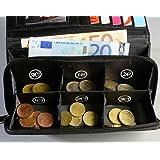 euro porte monnaie pratique avec 8 compartiments monnaie s par fournitures de bureau. Black Bedroom Furniture Sets. Home Design Ideas