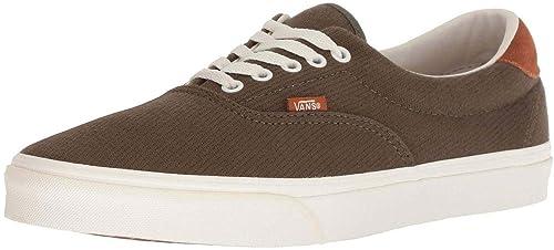 27c3219799 Vans Era 59 Flannel Olive White Mens Skate Trainers Shoes  Amazon.co ...