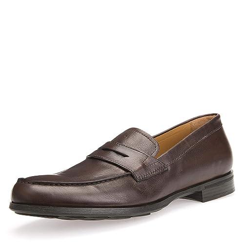 Mocasines para Hombre, Color marrón, Marca GEOX, Modelo Mocasines para Hombre GEOX U BESMINGTON Marrón: Amazon.es: Zapatos y complementos