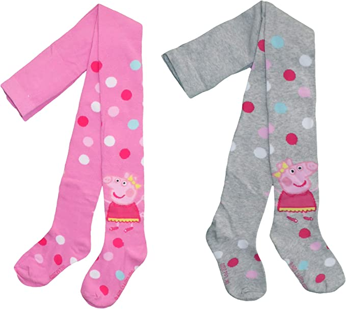 Peppa Pig Girls Thick Cotton Tights