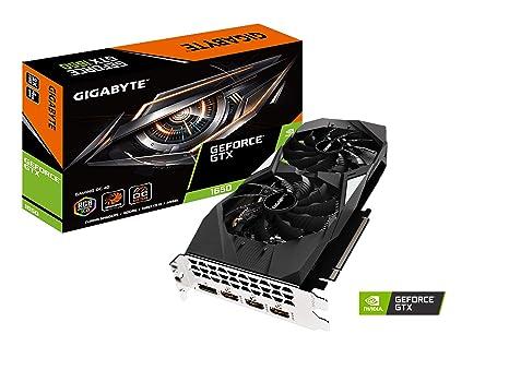 Amazon.com: Tarjeta gráfica GIGABYTE GeForce GTX 1650 Gaming ...