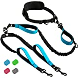 SparklyPets Hands-Free Dog Leash for Medium and Large Dogs – Professional Harness with Reflective Stitches for Training, Walk