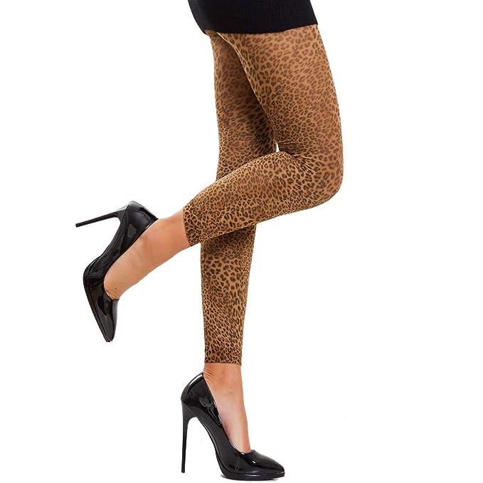 colori armoniosi grandi affari acquista per Toocool - Collant donna calze coprenti leopardo leopardate ...