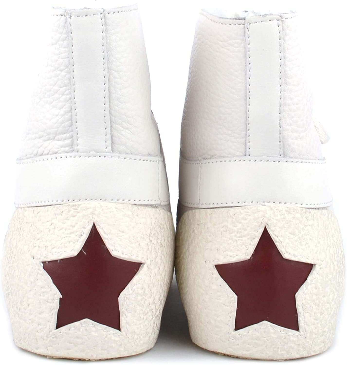 Ash Footwear Nomad Off White Leather Trainer