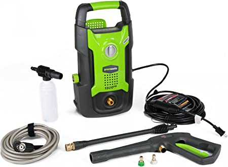 Greenworks GPW1501 1500PSI Electric Pressure Washer