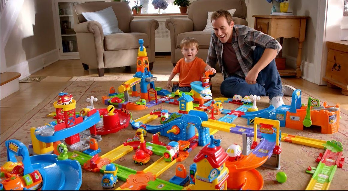 VTech Go! Go! Smart Wheels Deluxe Track Playset by VTech (Image #3)