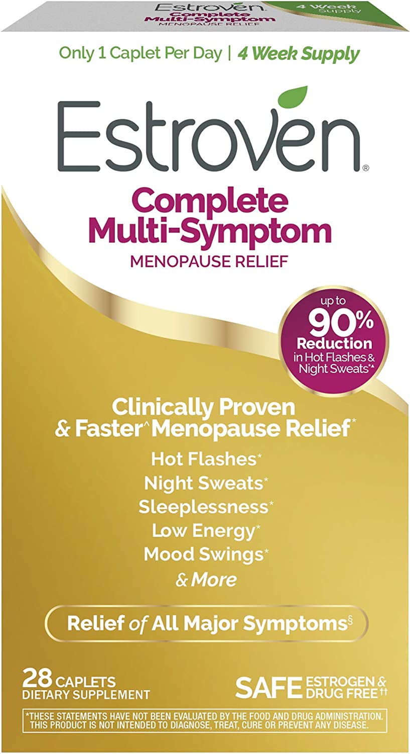 Estroven Complete Menopause Relief | All-In-One Menopause Relief