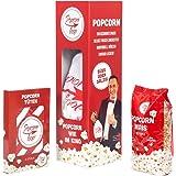 Popcornloop Starter Set Besteht Aus: Original Popcornloop, 500g Mais, 6 Popcorntüten Heimkinoset Auspacken, Loslegen
