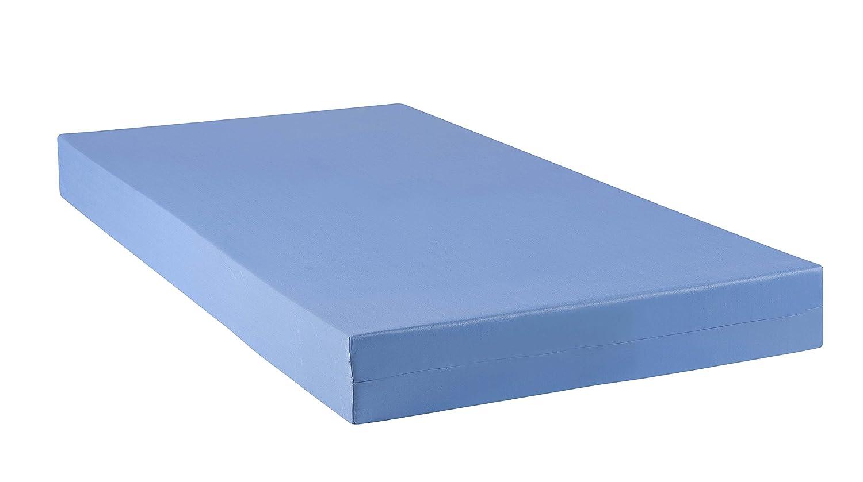 Soft Night Dax Espuma hr35 colchón ignífuga desenfundable poliéster/Poliuretano Azul 190 x 110 x 13 cm: Amazon.es: Hogar