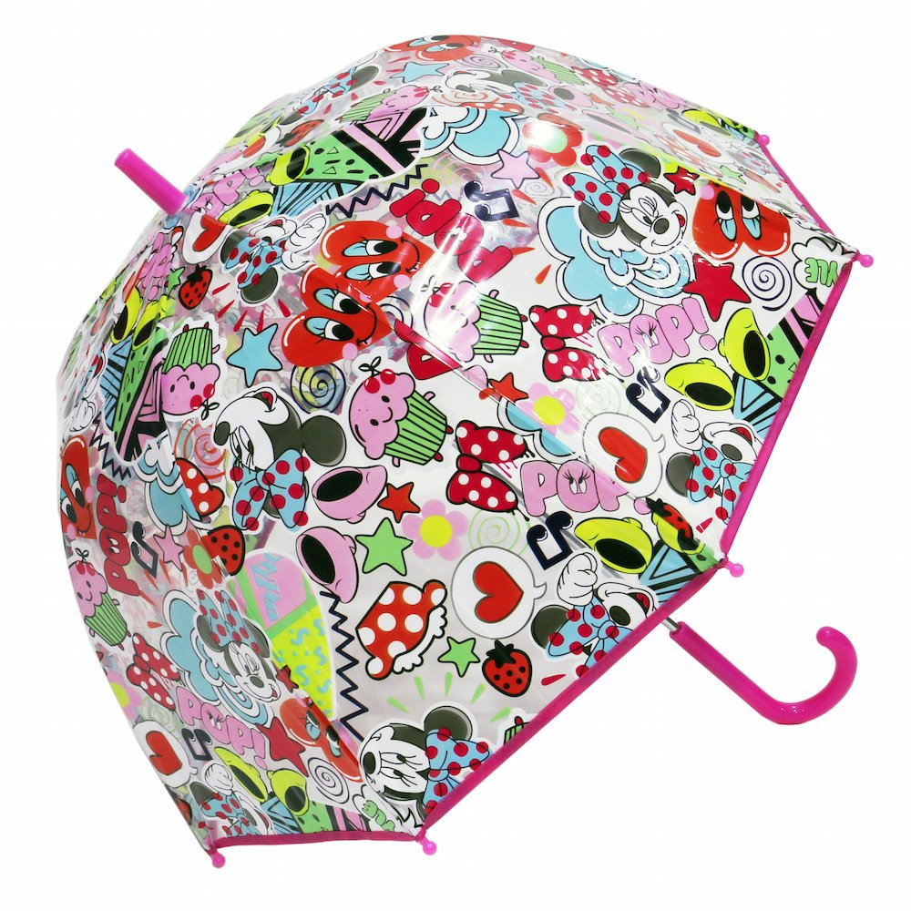 Minnie - Parapluie cloche Disney transparent