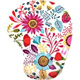 LIEBIRDErgonomic Mousepad with Wrist Support - Protect Your Wrists and De-clutter Your Desk - Premium Mouse Pad with Wrist Rest - Latest Custom Non-slip Design (Art Flower-small)