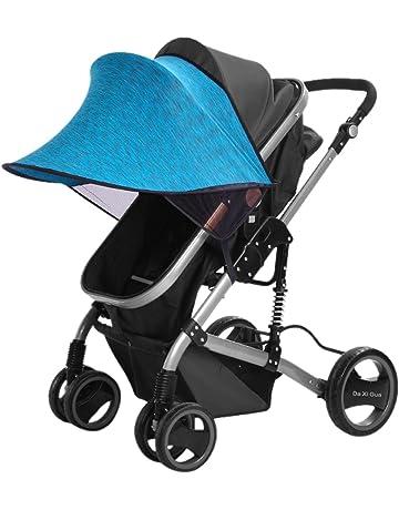 Happy Cherry Portátil Parasol Protector contra Viento Sol Lycra Anti-UV Sombrilla Cobertura Universal para