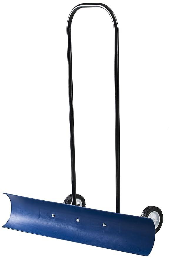La Snowcaster 30SNC 36 Inch bidireccional con ruedas - Pala para nieve, color azul: Amazon.es: Jardín