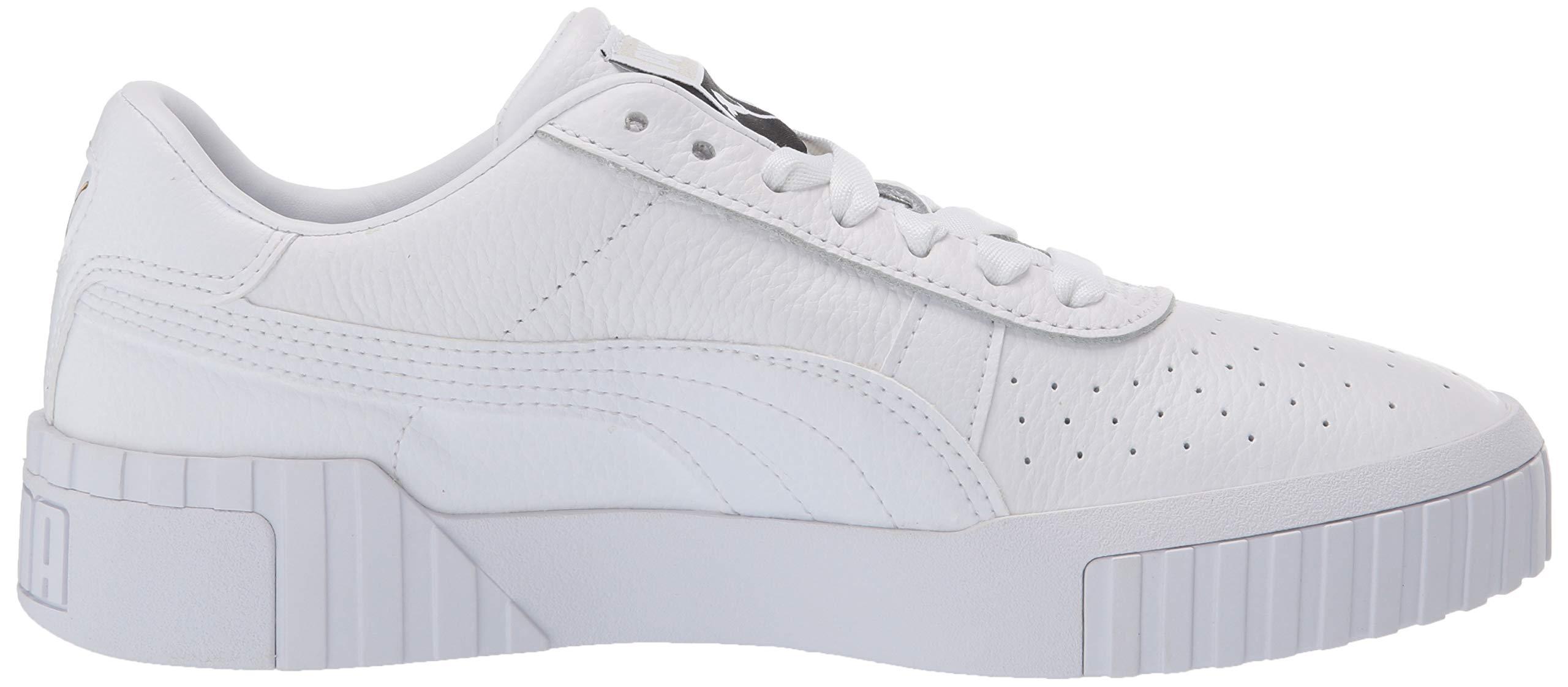 PUMA Women's CALI Sneaker, White, 9.5 M US