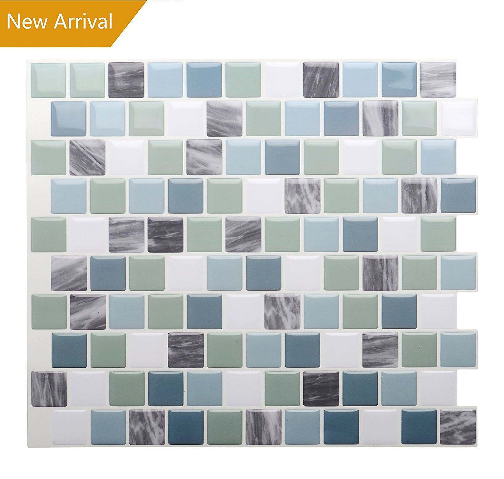 Vamos Tile Premium Anti Mold Peel and Stick Tile Backsplash,Self ...