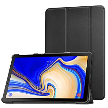 buy online 96db4 23c2d MoKo Case for Samsung Galaxy Tab S4 10.5 - Ultra Lightweight Slim-shell  Stand Cover Case with Auto Wake/Sleep Function for Galaxy Tab S4 10.5 Inch  ...