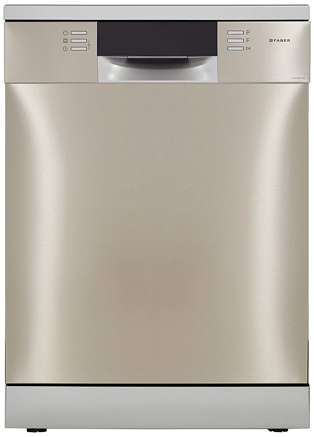 Faber 14 Place Settings Dishwasher (FFSD 8PR 14S, Silver, Inbuilt Heater)