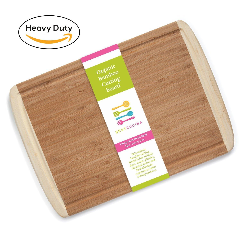 best organic bamboo wood cutting board premium