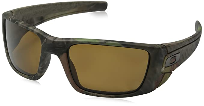 593eac3303 Image Unavailable. Image not available for. Colour  Oakley Men s Fuel Cell  OO9096-D9 Polarized Wrap Sunglasses
