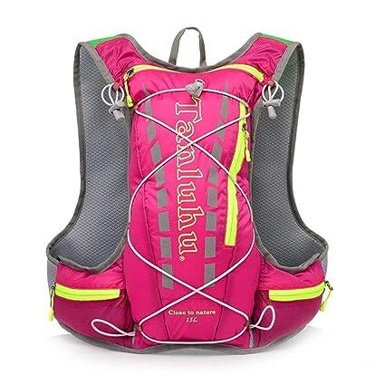 SGerste - Mochila de Hidratación para Correr al Aire Libre, 15 L, Bolsa de