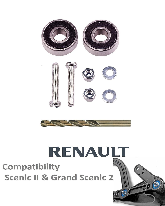 322 Kit de reparación de rodamientos para limpiaparabrisas: Amazon.es: Coche y moto
