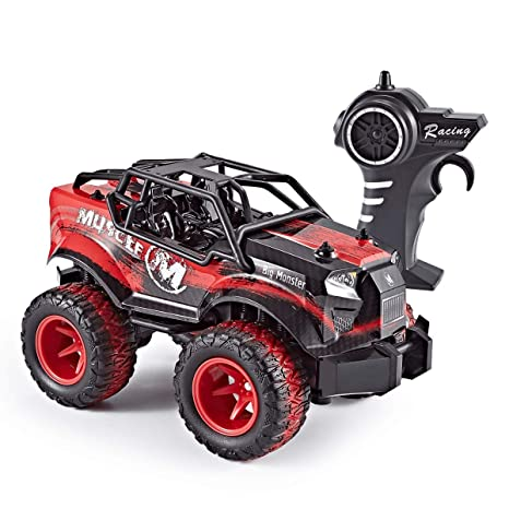 11b73e998a4f Amazon.com: Think Gizmos Speed Master Off Road Toy Remote Control Car for  Boys & Girls Aged 6 7 8 9 10 + (Red TG709-R): Toys & Games