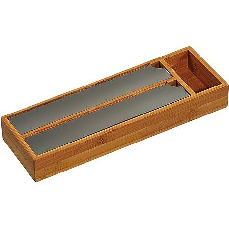 Amazoncom Kesper Bamboo Foil Dispenser For The Drawer Brown