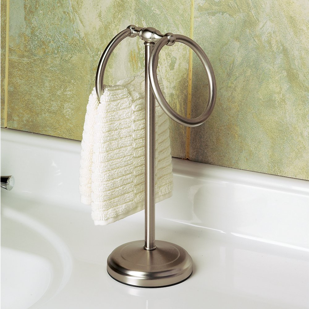 countertop guest ring product free solid bedding bath shipping towel brass holder