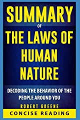 Summary of The Laws of Human Nature By Robert Greene Paperback
