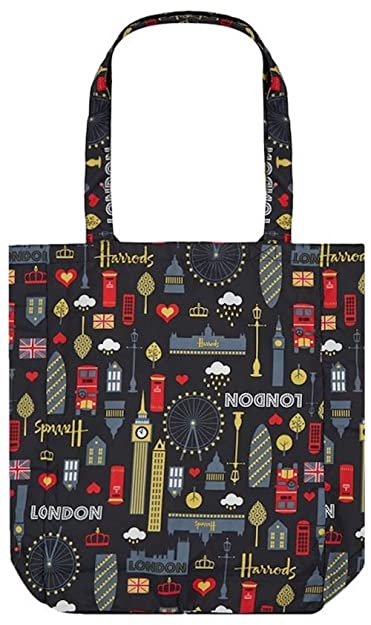 Amazon.com: Harrods London – Bolsa de la compra con ...
