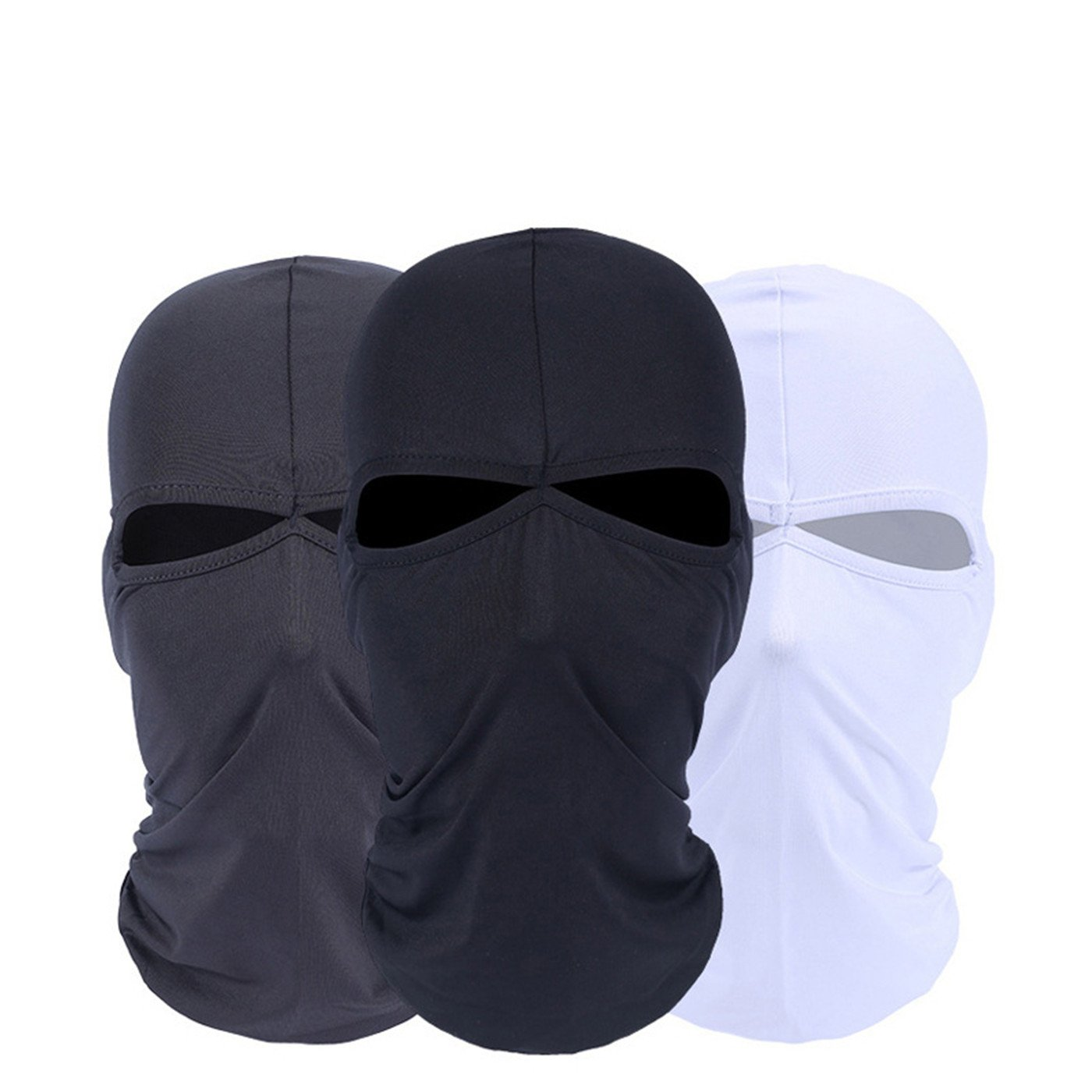 Balaclava - Windproof Mask Adjustable Face Head Warmer for Skiing, Cycling, Motorcycle Outdoor Sports 3Pack 2