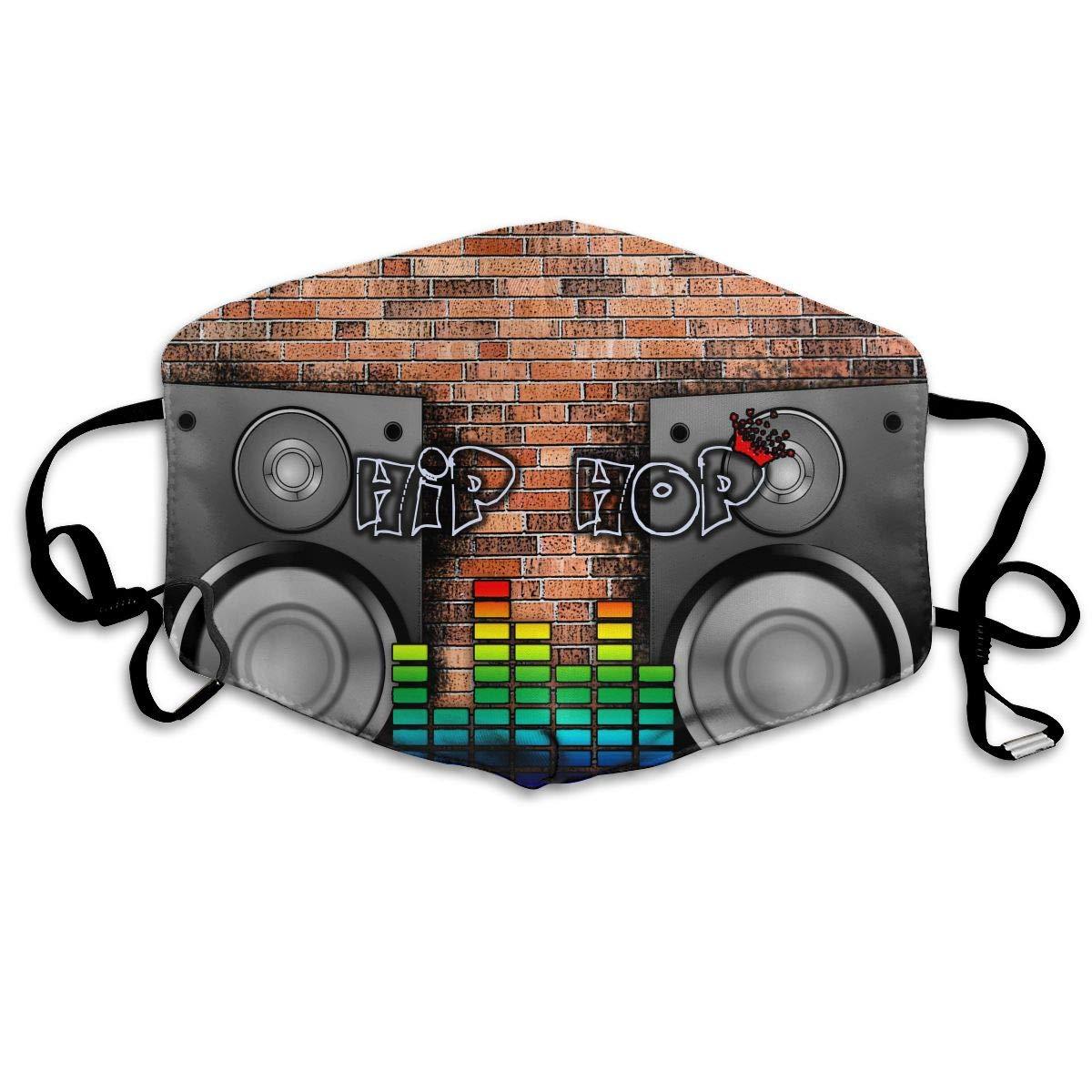 Mouth-Muffle Face Mask Unisex Hip Hop Dance Adjustable Washable Anti-dust Woman Mens