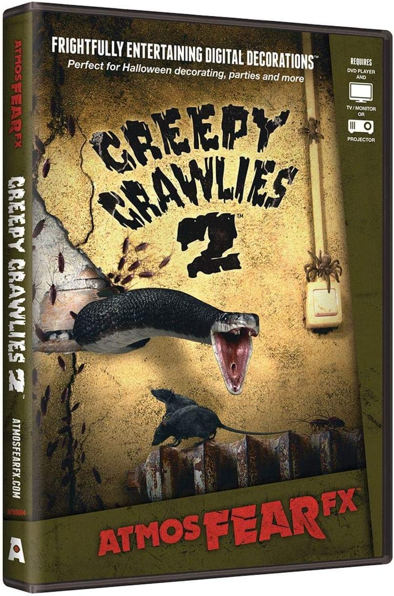 AtmosFEARfx Creepy Crawlies 2 Halloween Digital Decorations by ...