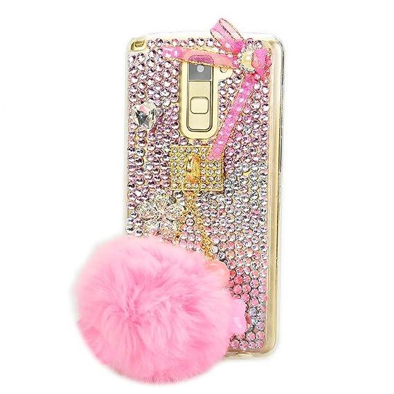 newest 04466 f2749 Amazon.com: STENES LG Stylo 2 Case - Stylish - 100+ Bling Crystal ...