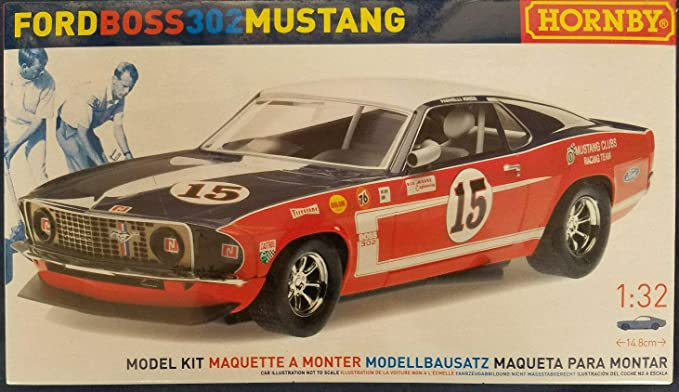 Amazon.com: Cool Vintage Hornby Ford Boss 302 Mustang 1:32 ...