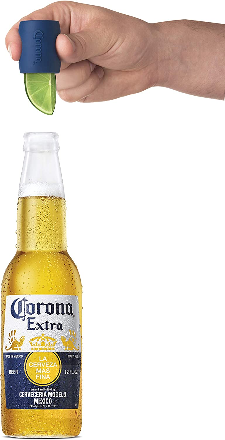 Blue One Size Vacu Vin Lime Inserter Corona Beer Accessory