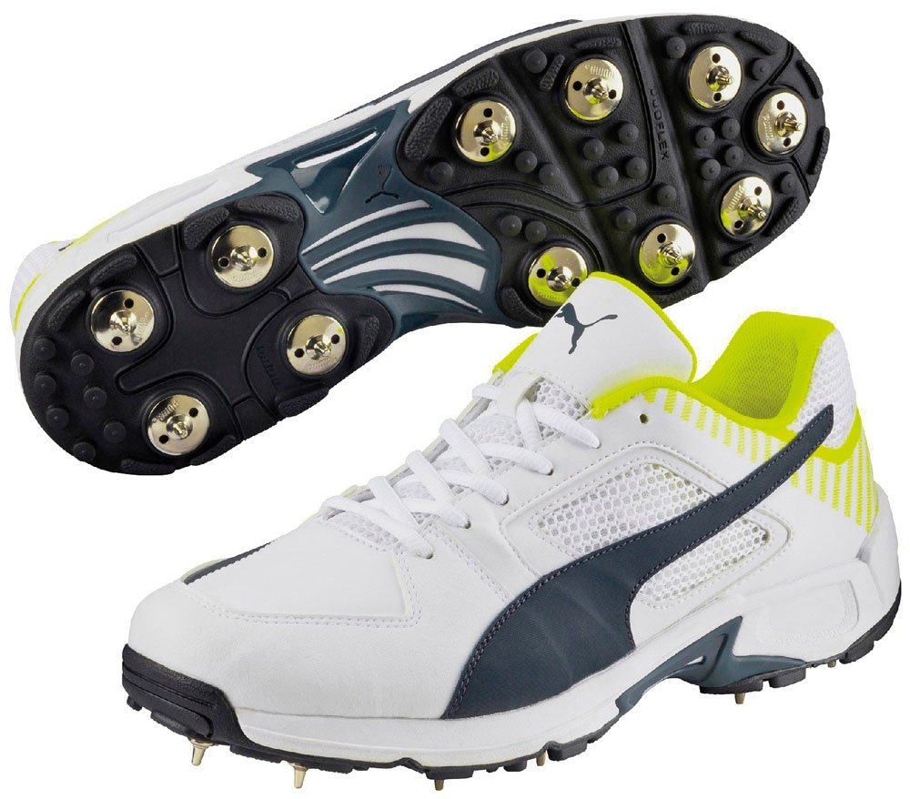 Puma Team Spike Cricket Shoes Synthetic Leather Upper Footwear Sports Trainers Only Sportsgear