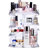 Miserwe Makeup Organizer 360 Degree Rotation 7 Layers Adjustable Storage Different Kinds of Cosmetics Multi-Function…